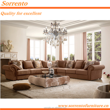 564B# L Shape Arab Sofa Set For Living Room Furniture