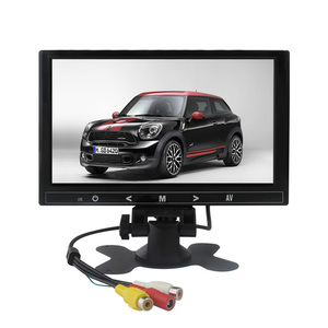 New style 9 inch led car monitor price with 2*av input