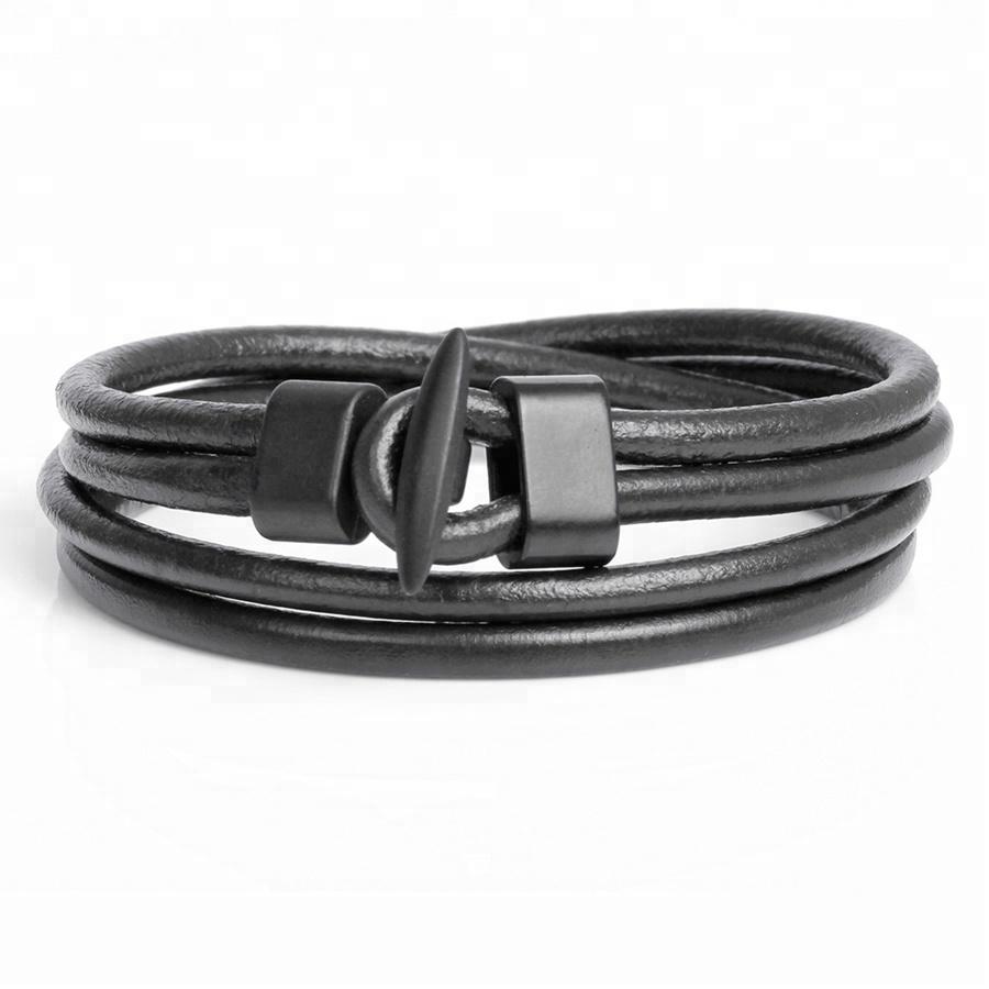 Fashion Multilayer High Quality Leather Wrap Bracelet Men Charm Braided Slap Bracelet Trendy Sport Hook Bracelet Jewelry фото