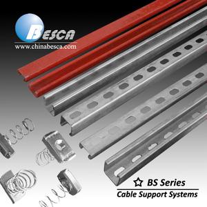EN 1461 Hot Dip Galvanized C Channel / Strut Channel / Steel Channel