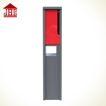 Jhc 6001 Free Standing Metal Mailbo Mailbox Galvanized Letter Box For Office Post