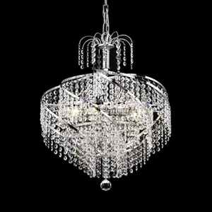 Custom made 8 lights Russian style crystal chandelier