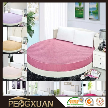 Px 360 Degree Fitted Sheet Wholesale For Hotel Round Bed