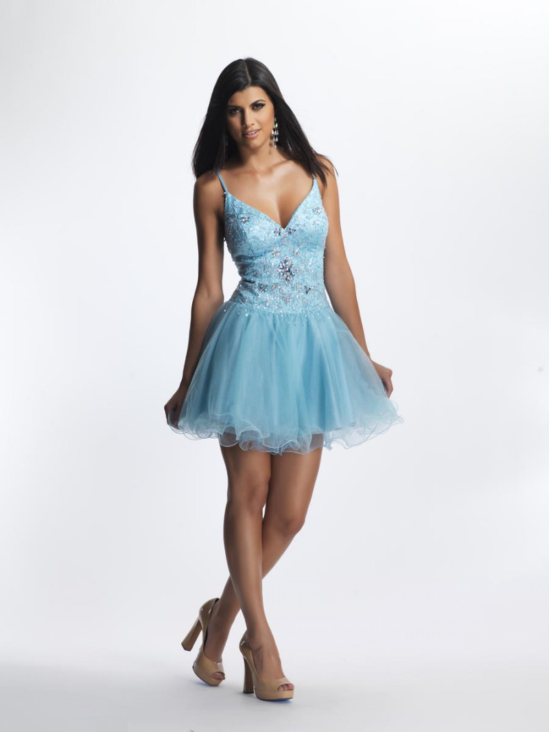 Cheap Short Blue Prom Dresses With Straps, find Short Blue Prom ...