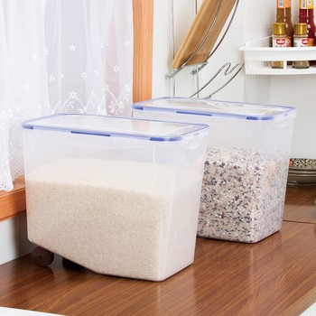Plastic Airtight Food Grade Rice Storage Containers Box Buy Rice