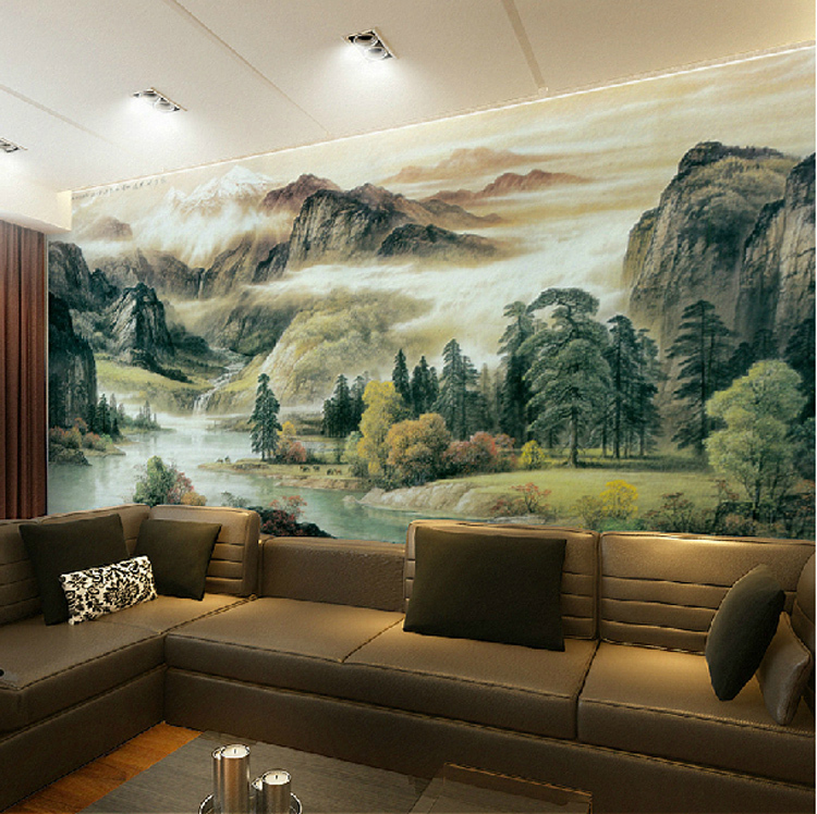 Home Decor Murals: High-Quality-The-spectacular-landscapes-Mural-Wallpaper
