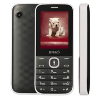 unique design ipro i324F 2.4 inch 2G original cell phone one key torch and bluetooth