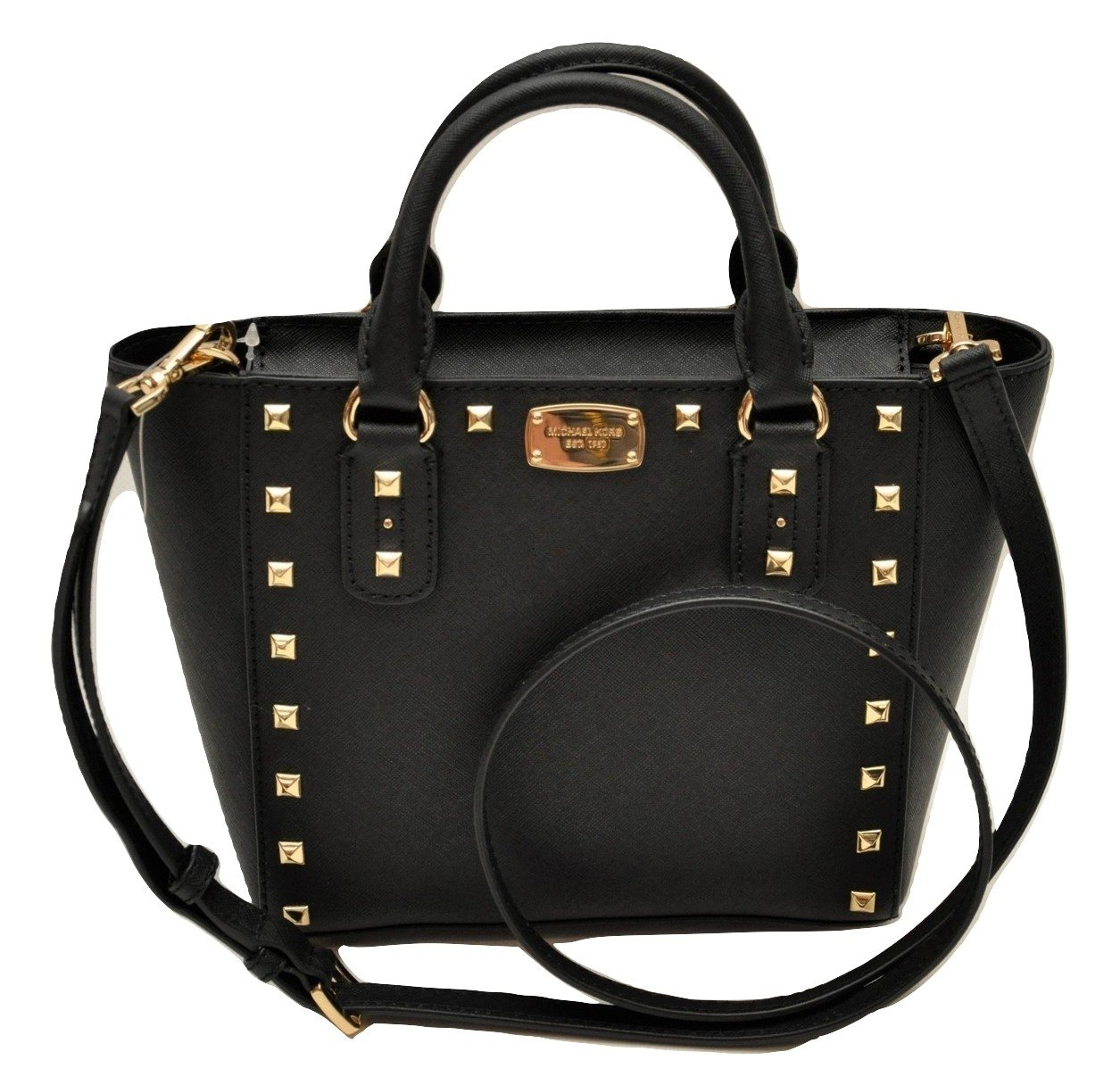 Michael Kors Sandrine Stud Small Leather Crossbody
