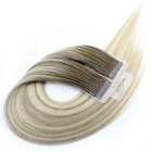 Hot Selling Cuticle Aligned Virgin Brazilian Hair Wholesale Private Label 7A Tape Hair Extension