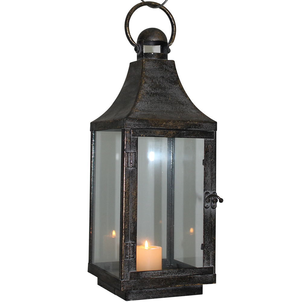 garden decorative moroccan hurricane candle lantern