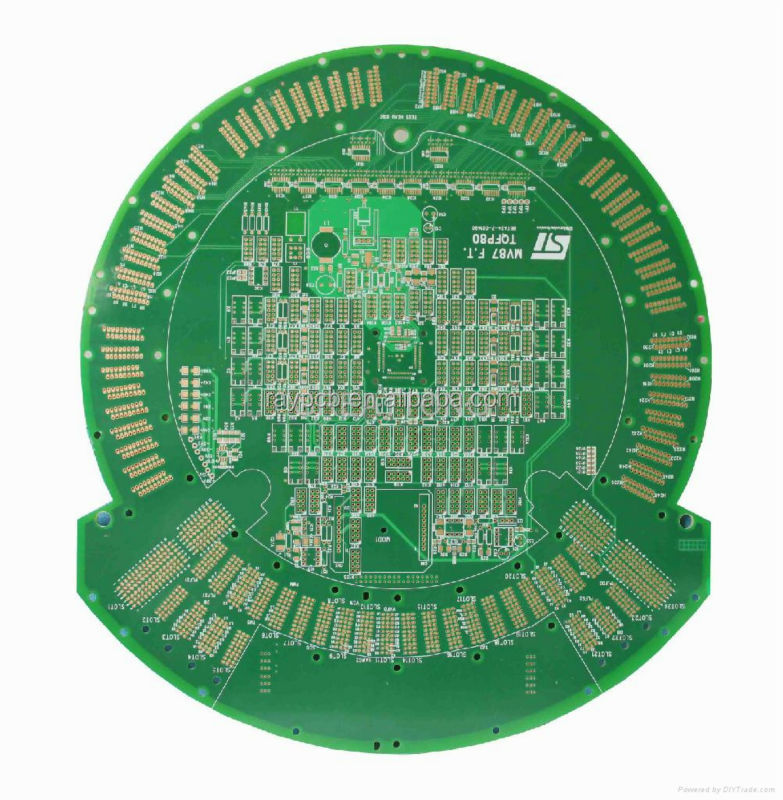6 Layer HDI PCB with OSP and Immersion Gold Finishing