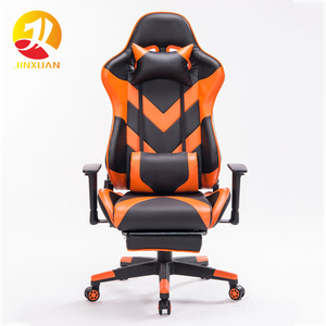 Hongkong Singapore Orange 2019 ergonomic modern adjustable stacking chair game racing ps4 game chair For Gamer