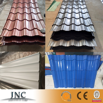 New Promotional Colorful Corrugated Metal Roofing Sheet
