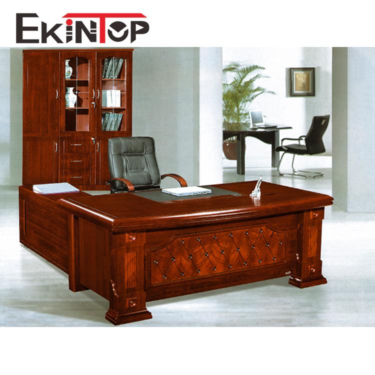Professional office furniture half round european style semi circle 100% MDF executive office desk