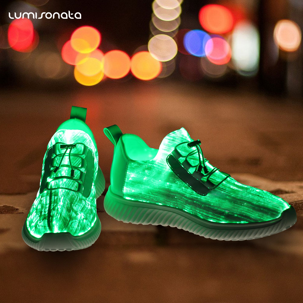 Light Upper Shoes LED PU Wholesale qCE1w