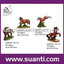 Folk horse resin crafts products