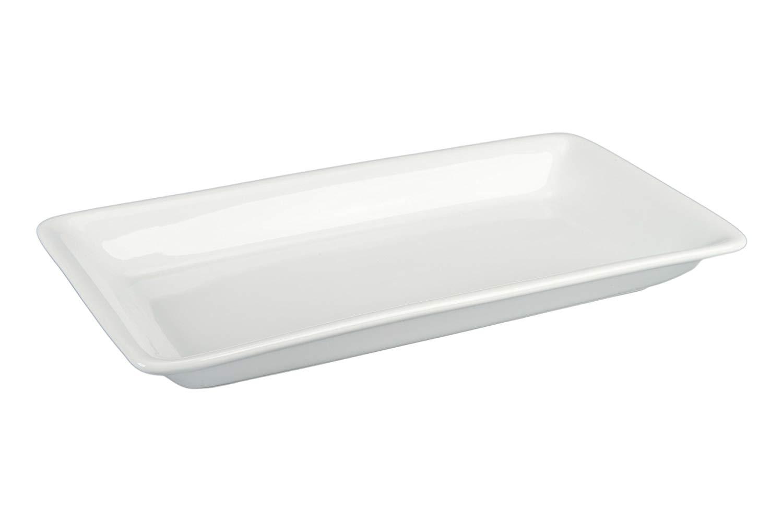 BIA Cordon Bleu 902936 Porcelain Rectangular Platter, 21.5 by 11.75-Inch, White