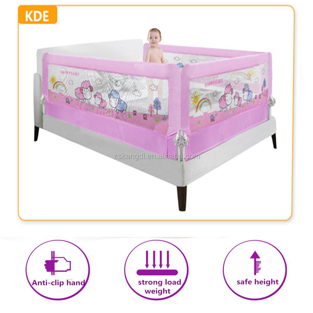 mejores guardias de cama infantil del beb del cabrito del nio solo lado protector de cama