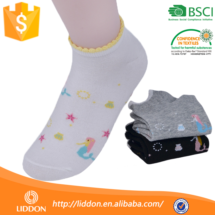 Oem Quality Korea Young Sexy Girl Ankle Sock,Wholesale Cute No Show Cartoon Elite Sock Women