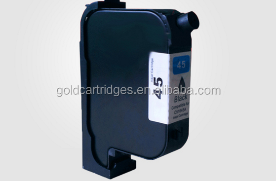 Remanufactured inkjet cartridge HP45 Black