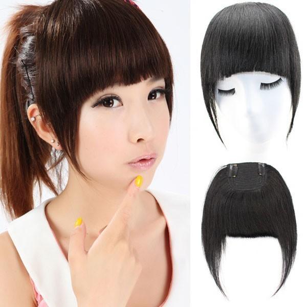 Girls Side Clip Hair Bang Pieces Buy Clip Hair Bang Pieces 2015