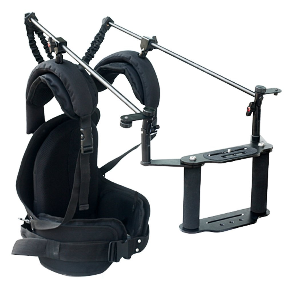 Battle Tested Film Gear 954-C-FLEXI-R Camtree Flexi Rig-Shoulder Mounted Camera Stabilization System (Black)
