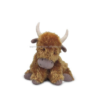 plush Yak cute lying Yak stuffed animal toy