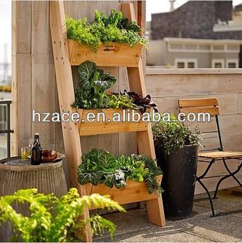 Holz Vertikalen Garten Regal Buy Gartenanlage Regalgarten Pflanzer Regalholz Garten Blume Regal Product On Alibabacom