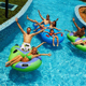 Family theme park equipment lazy river water slide