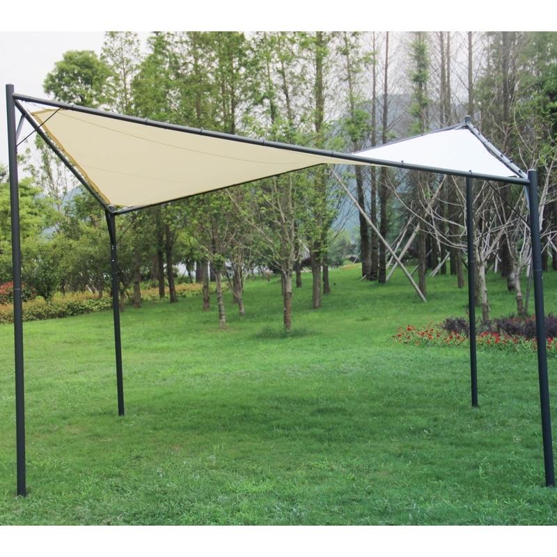 En Plein Air Gazebo Tente De Jardin/assemblage Manuel Gazebo Tente ...