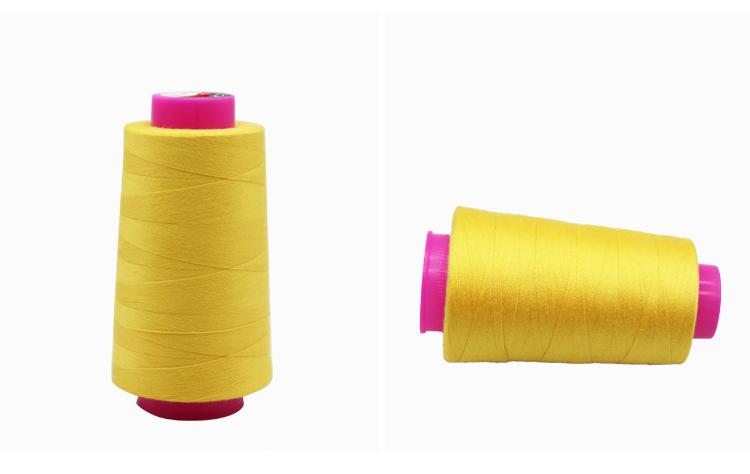Factory Supply Kegel Garen Naaien Voor Kledingstuk Jassen 20 S/2 Multi Kleur Draad voor Kledingstuk