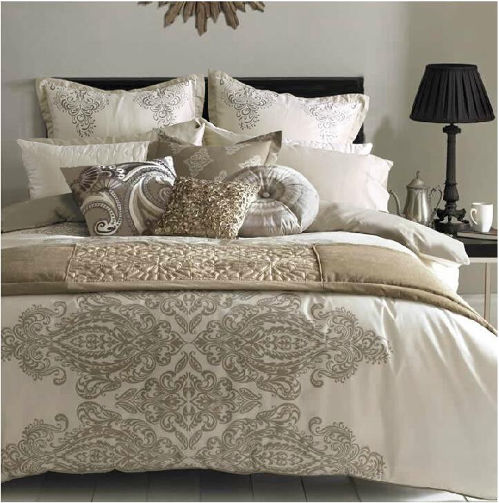 Online Get Cream Bed Linen