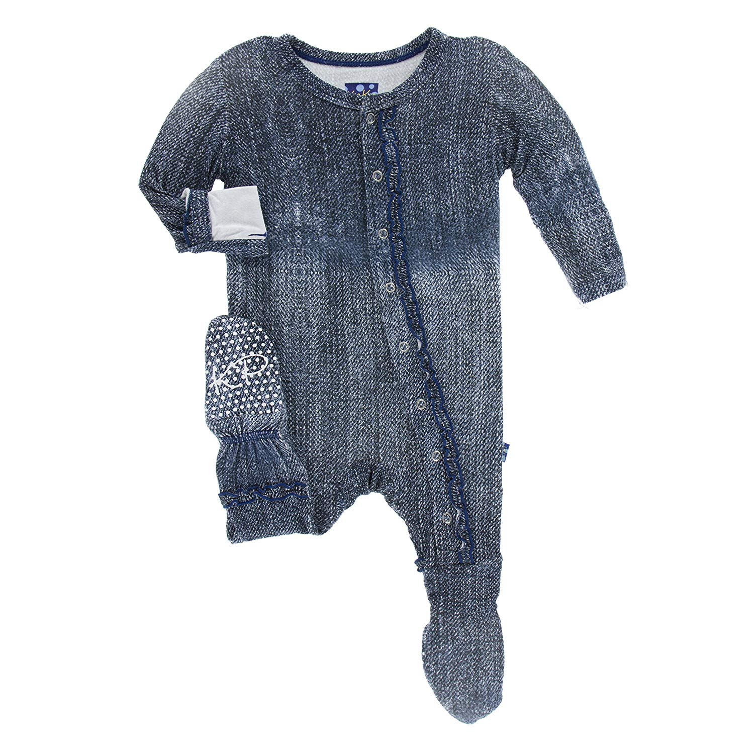 a6124b7d9 Buy KicKee Pants Baby Boys and Girls Newborn Layette Gown and Knot ...