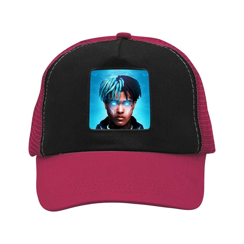 a2e7d6b9 Get Quotations · Custom XXX-Ten-tacion Rap Music Men & Women Mesh Cap  Snapback Trucker Hats