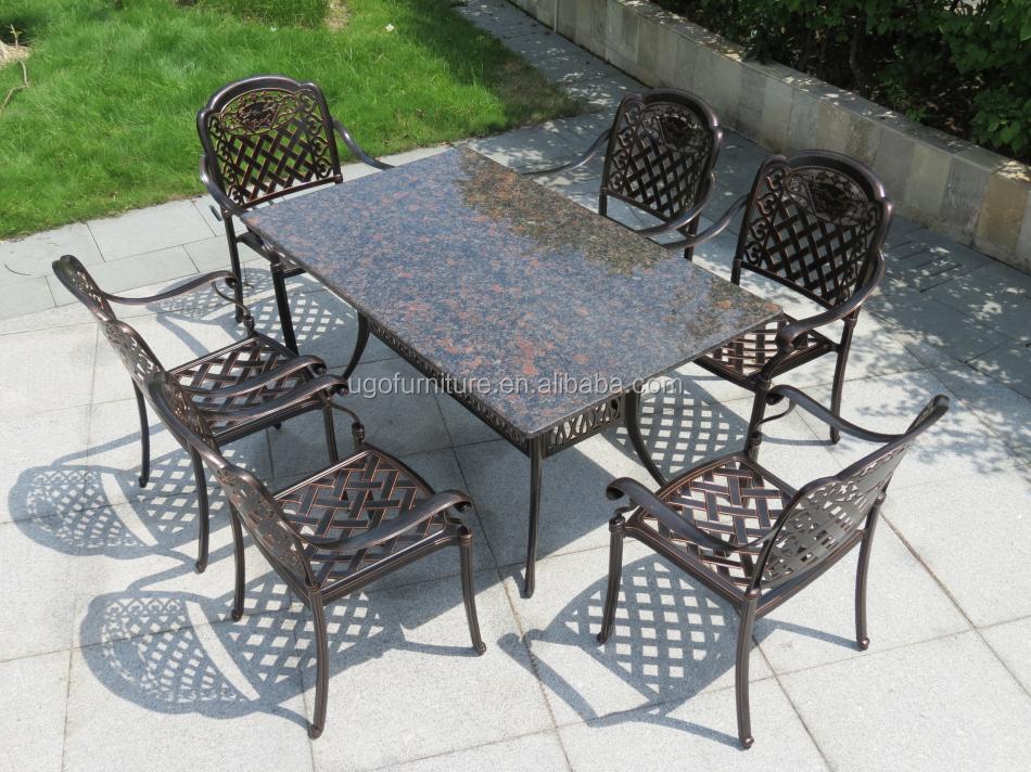 Meubles en fonte d\'aluminium extérieure/jardin meubles en fonte d ...