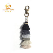 Good Quality Promotional Tassel Keychain