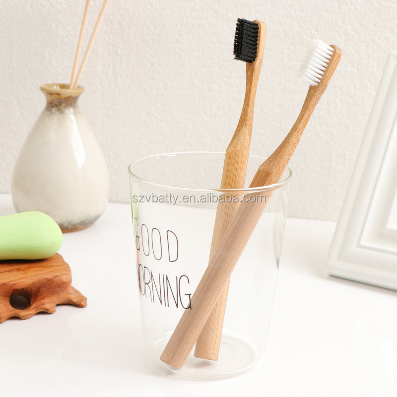 bamboo charcoal toothbrush   biodegradable Disposable BAMBOO TOOTHBRUSH  logo