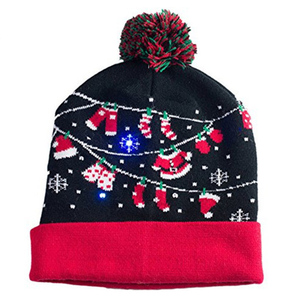 d51e59b3edfdc2 Christmas Led Beanie, Christmas Led Beanie Suppliers and Manufacturers at  Alibaba.com
