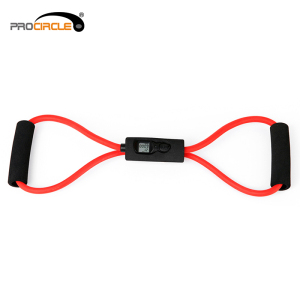 Gym Fitness X Cross Shaped Tube Resistance Band