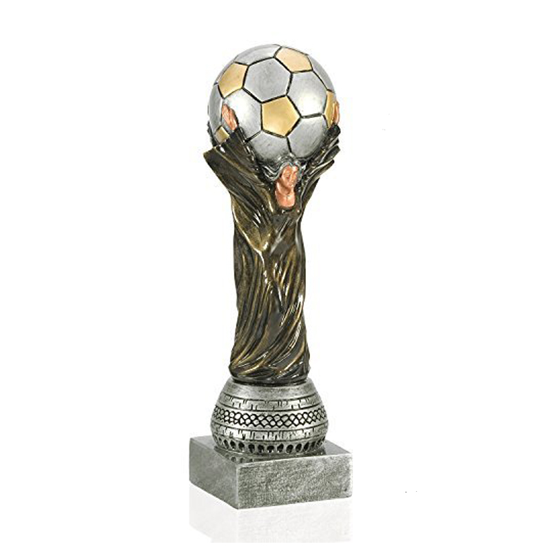 Resin Wold Cup Football Soccer award Trophy for souvenir