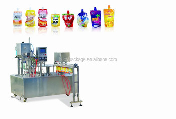 HFIZLD-B standing bag filling and capping machine