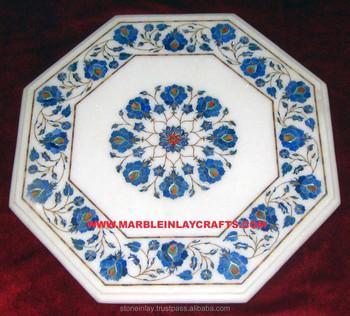 Tavoli Antichi Da Cucina Con Marmo.Intarsio In Marmo Da Tavolo Ottagonale Tavoli Di Marmo Intarsio