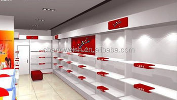 shoes shop interior design, modern shop design used in shopping mall ...