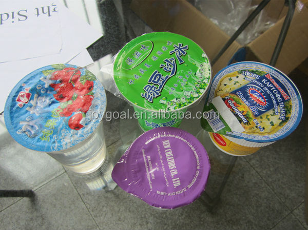 JOYGOAL Excellent quality automatic paste or water cup filling and sealing machine