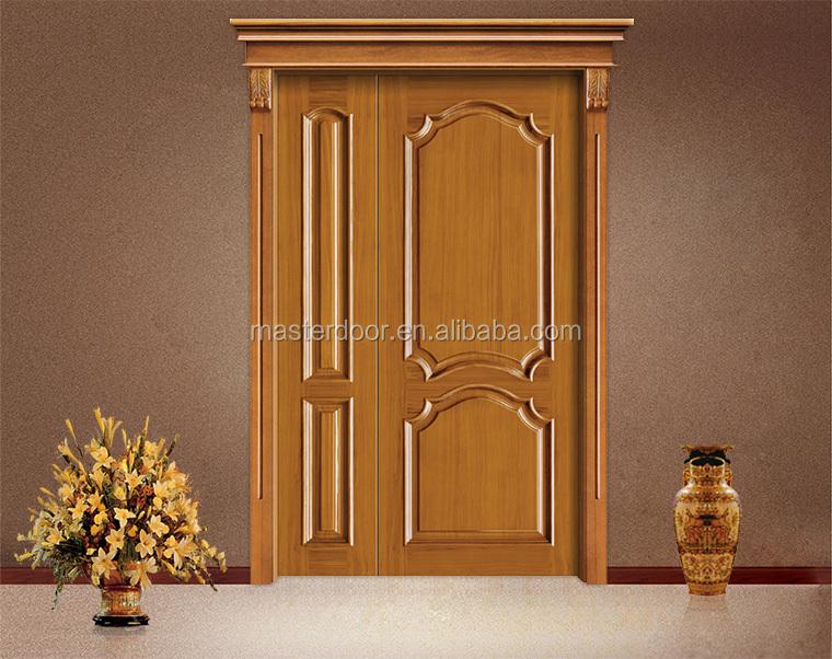 Ghana simple teak wood door house door designs buy for Take wood door designs