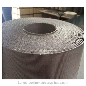 SS 316 Plastic recycling filter wire mesh belts