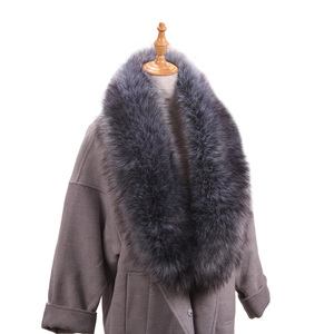 2018 New Arrival Thick Warm Winter Long Detachable Fur Collar Men