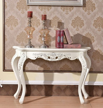 Wood carved console table (NG2903)