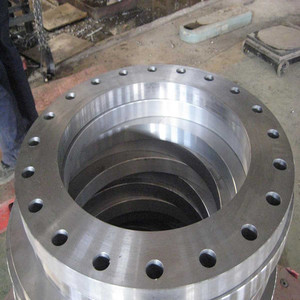 Pipe flanges used in construction and plumbing industries