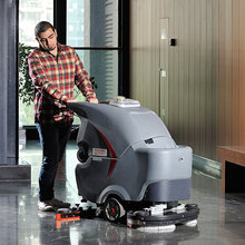 Dual Brush Automatic Floor Scrubbing Machine CE floor cleaning machine